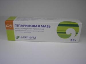 Целебные свойства гепариновой мази