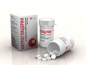 Нитроглицерин при приступе стенокардии