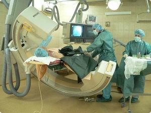 Ангиография бифуркации аорты