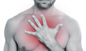 Болезненные ощущения в груди