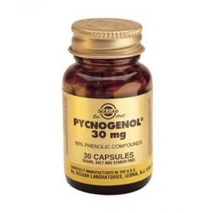 Хорошим антиоксидантным действием при варикозе обладает Пикногенол