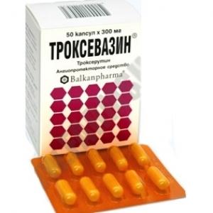 Применение препарата троксевазин при варикозе
