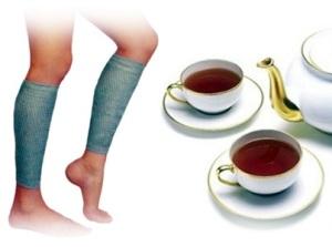 Свойства зеленого чая при варикозе